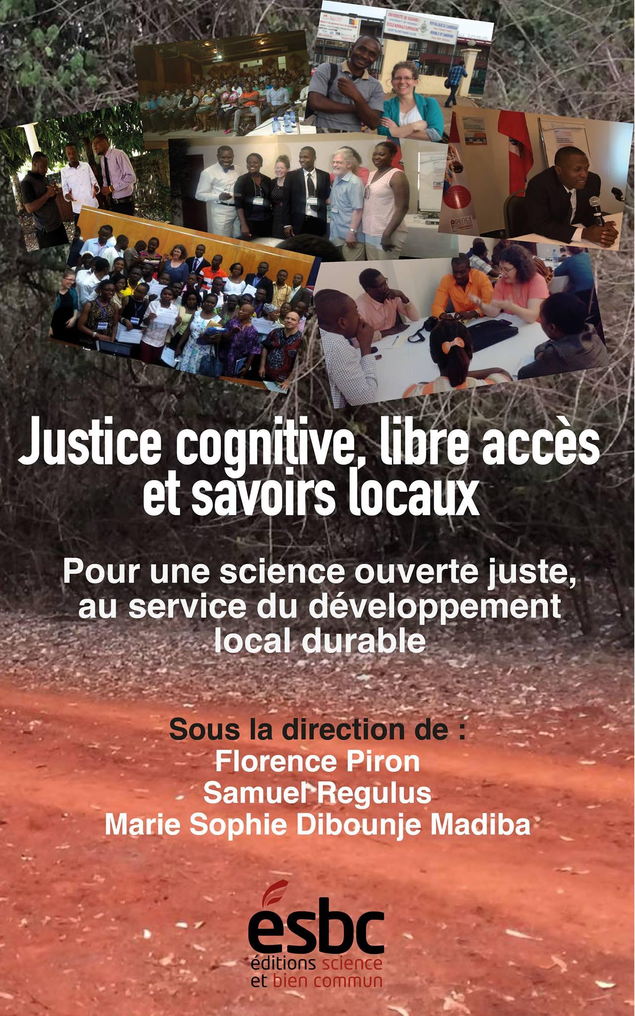 Justice cognitive, libre accès et savoirs locaux