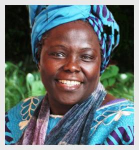 Wangari Maathai en couleurs