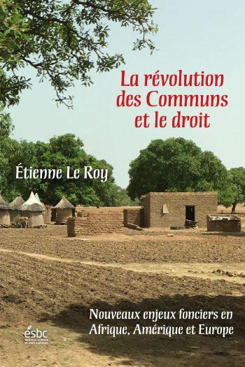 Page couverture de La révolution des Communs et le droit